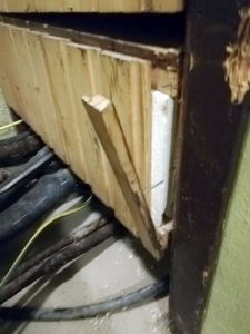 Eksempel på risikofylt elektrikerarbeid.