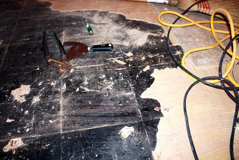 Asbestkurs, asbest, kreftfremkallende, oppussing, gulv